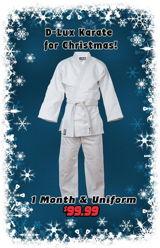 D-Lux Karate for Christmas