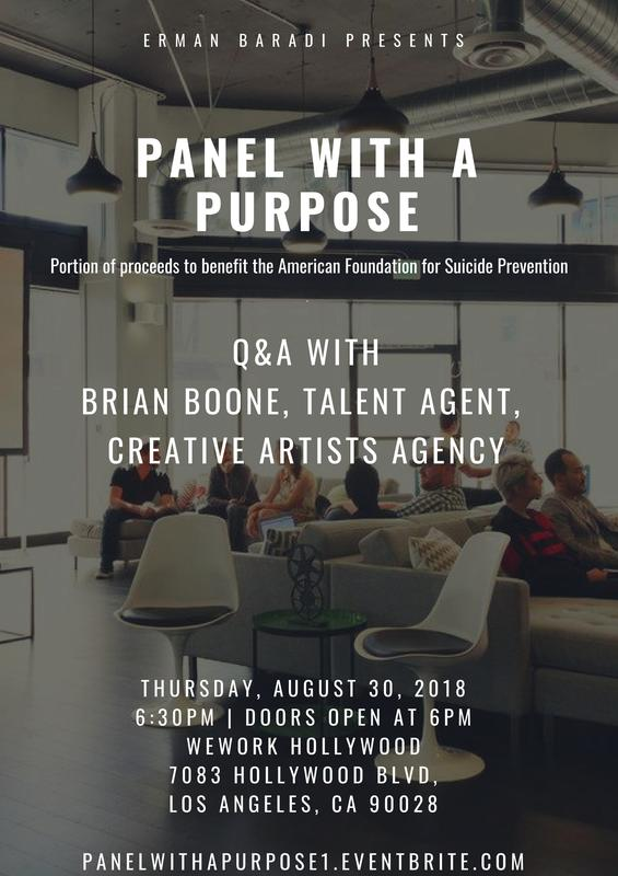 Panel with a Purpose: Hollywood Q&A