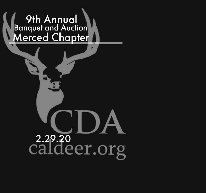 California Deer Association-Merced Annual Banquet and Auction 2020