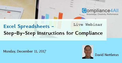 How to Configure and Validate a GxP Compliant Spreadsheet Application