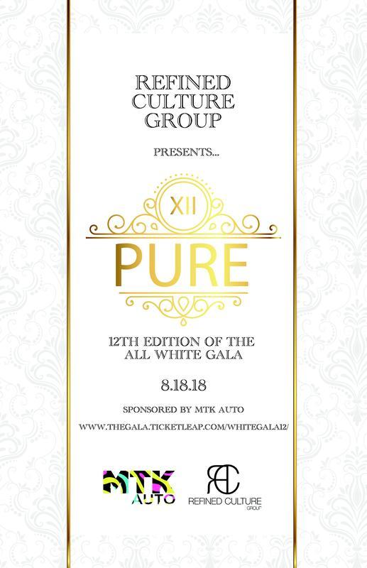 "PURE ""White Gala XII"""