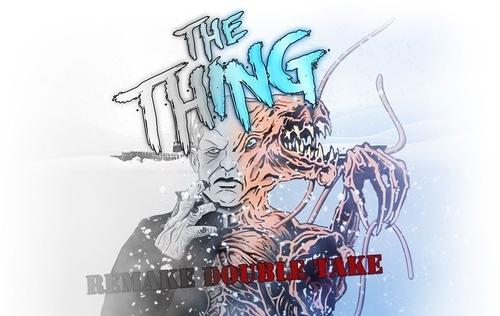 Remake Double Take; THE THING on 35mm