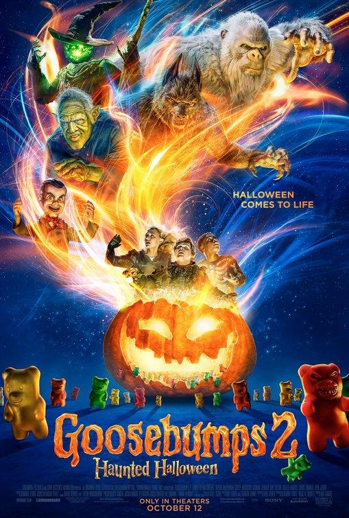 Goosebumps2, House with A Clock in It's Wall & SmallFoot** **(Small Foot-Friday/Saturday ONLY)