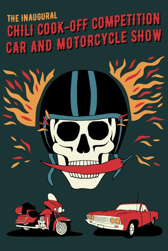 Inaugural Chili Cook-Off, Car & Motorcycle Show
