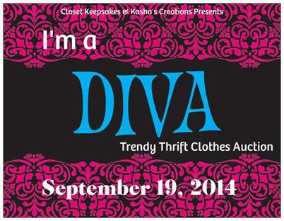 I'm a Diva Trendy Thrift Clothes Auction