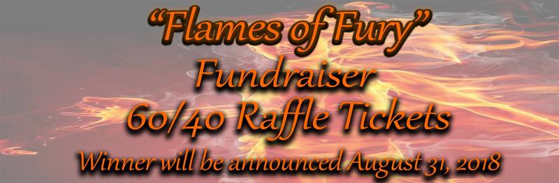Flames of Fury 40/60 Raffle Ticket