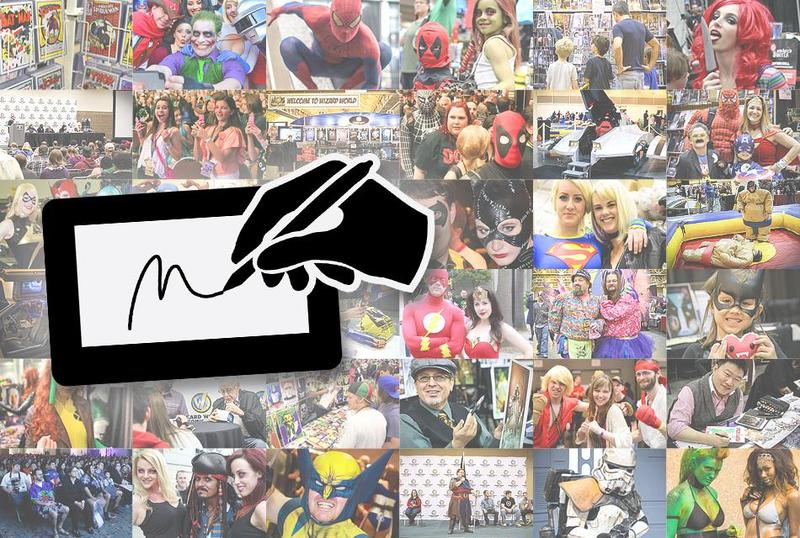 Autographs @ Wizard World Madison Comic Con 2015 **VALID ON ALL DAYS OF APPEARANCES**