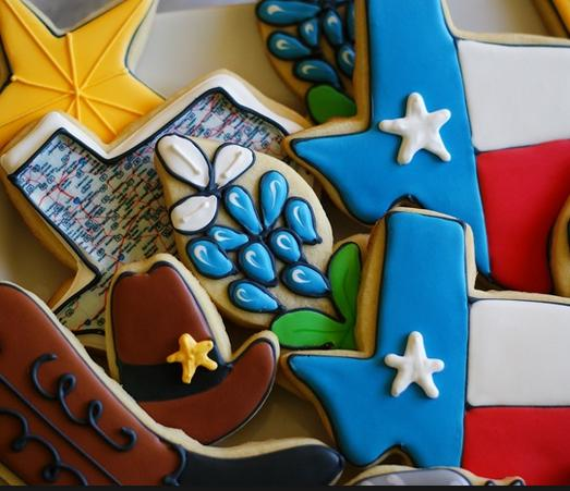Texas Themed Cookie Decorating Workshop