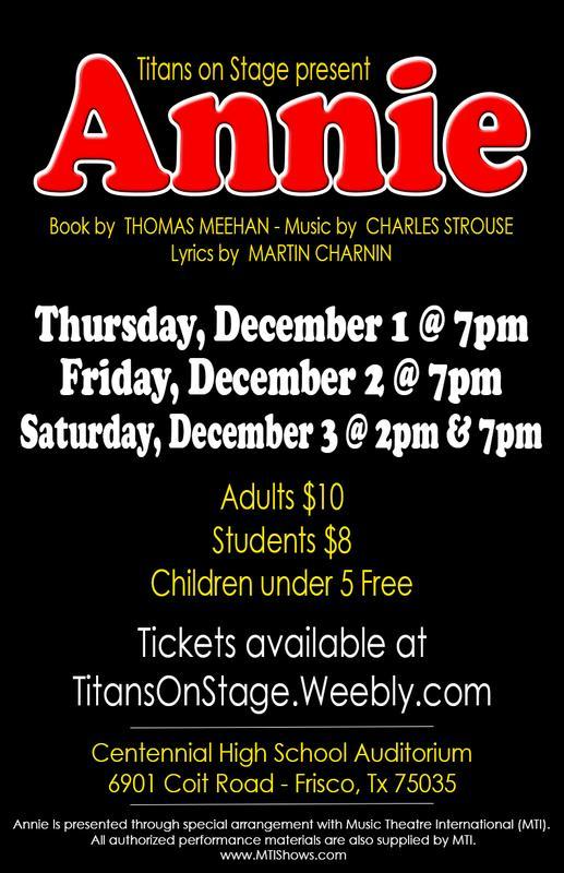CHS Annie: The Musical
