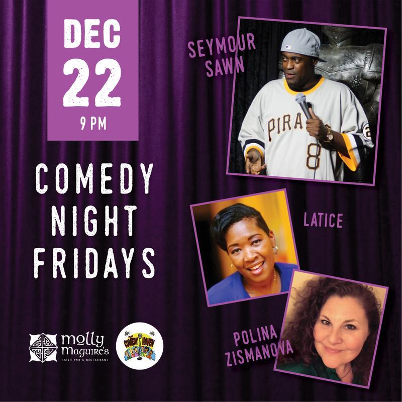 Comedy Night Fridays 12/22/2017