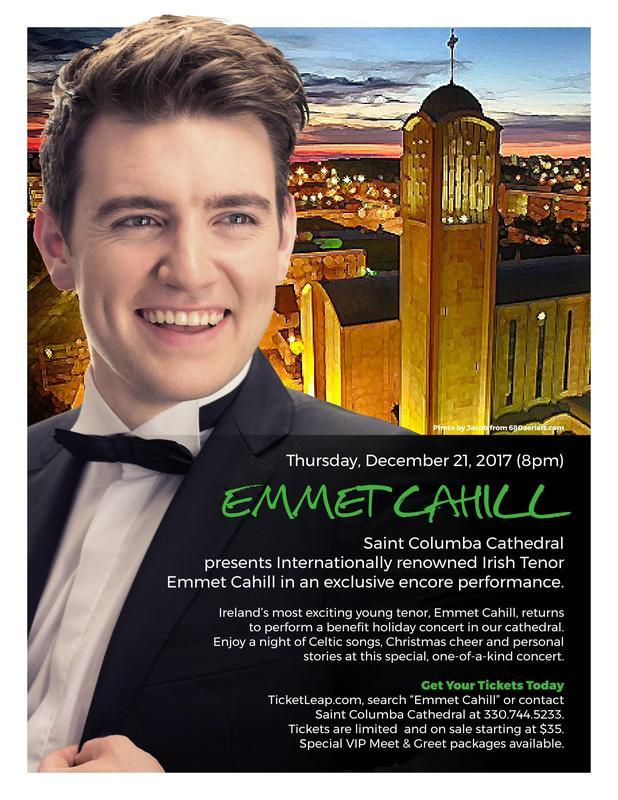 Emmet Cahill - Irish Tenor Holiday Benefit Concert
