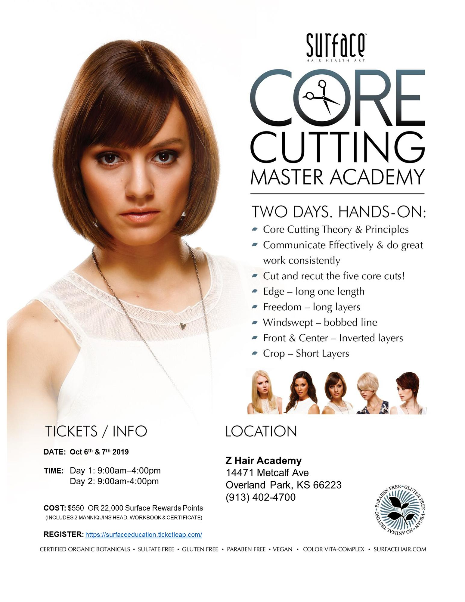 Surface Master Core Cutting: Kansas City Oct 12 & 12 Tickets in