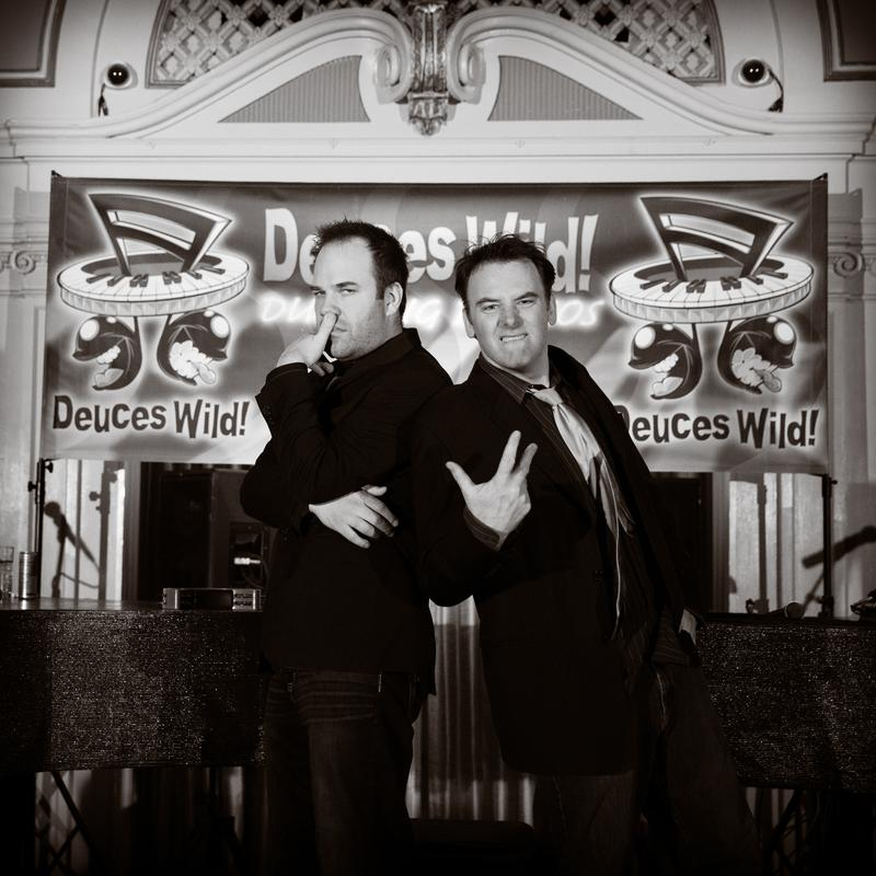 Deuces Wild Dueling Pianos at Greysolon Ballroom