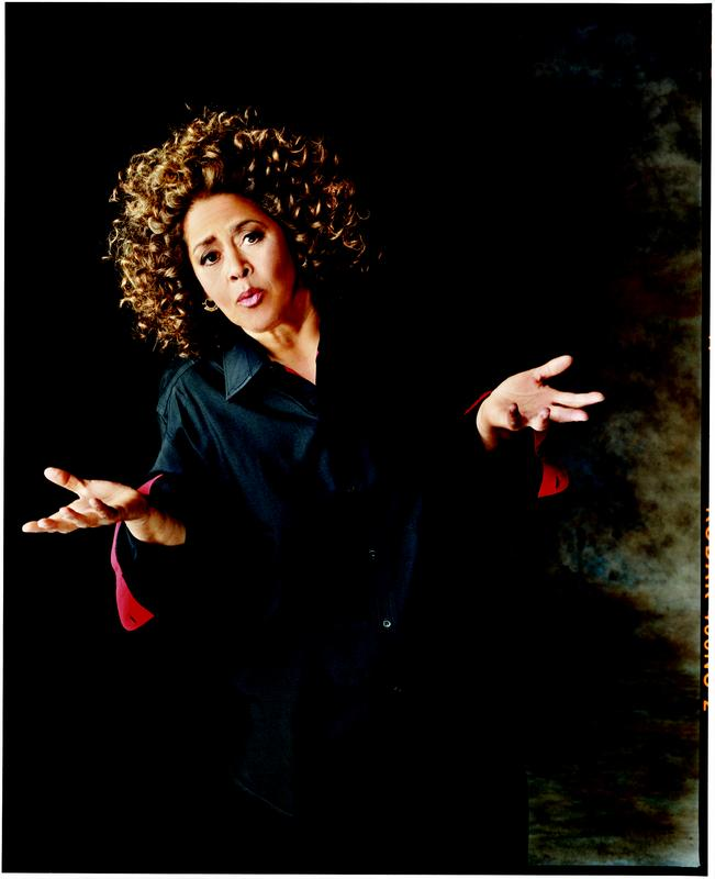 Anna Deavere Smith on Stage at Muhlenberg College