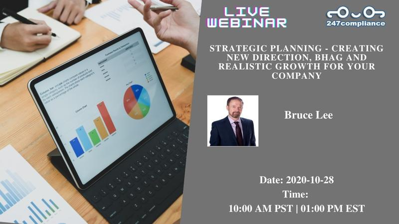 Strategic Planning - Creating New Direction, BHAG and Realistic Growth for Your Company