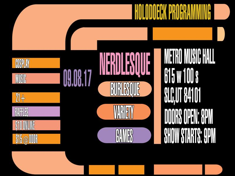 Nerdlesque  feat Clusterphoque Cabaret