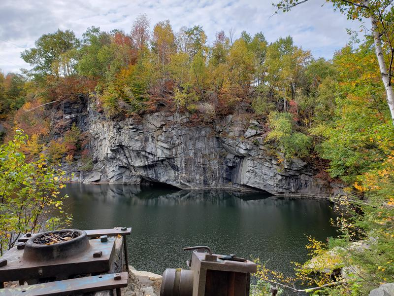 Group Hike of the Becket Quarry