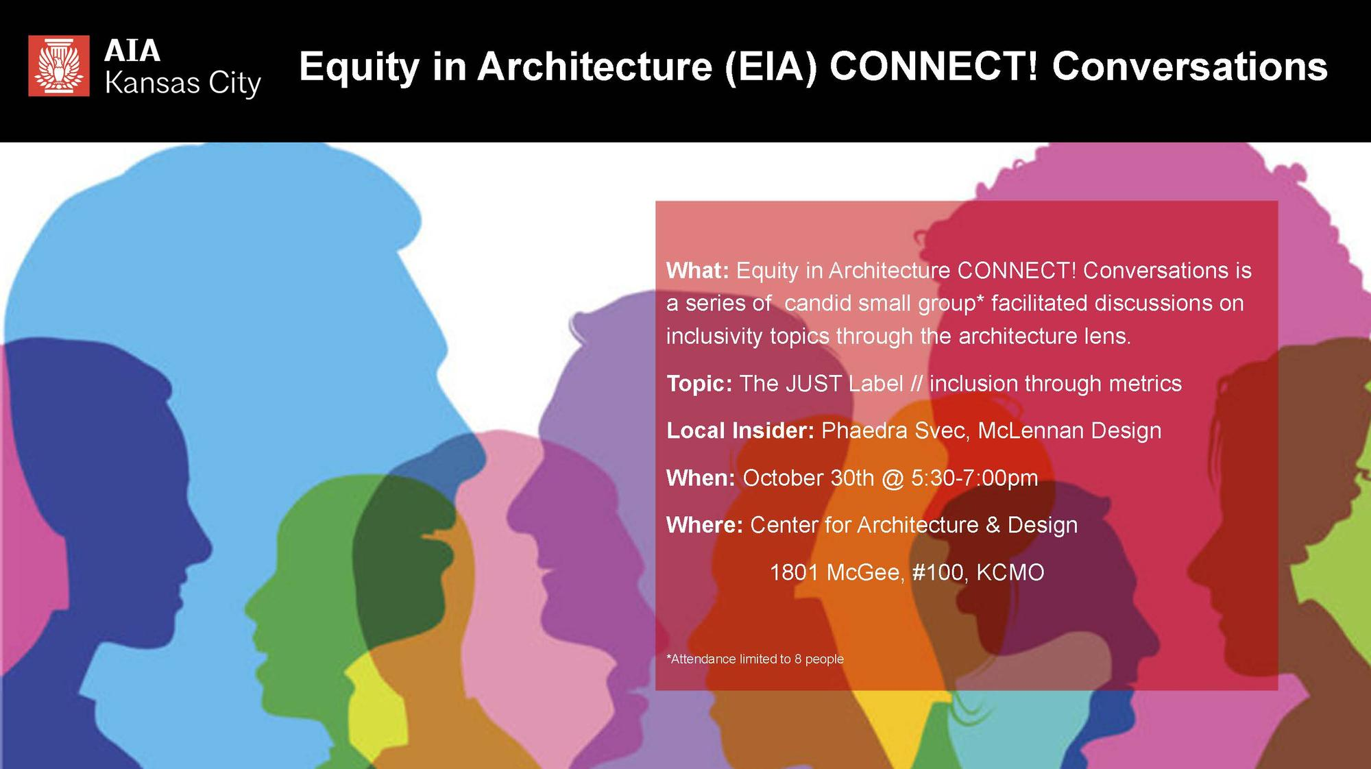 Equity in Architecture: CONNECT! Conversations: The JUST Label