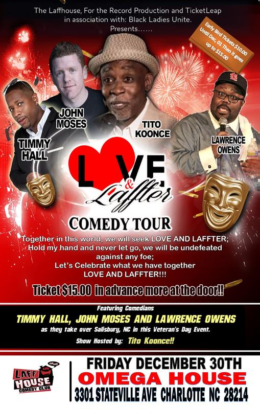 LOVE AND LAFFTER @ Omega House