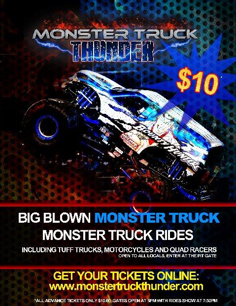 Monster Truck Thunder - Clovis
