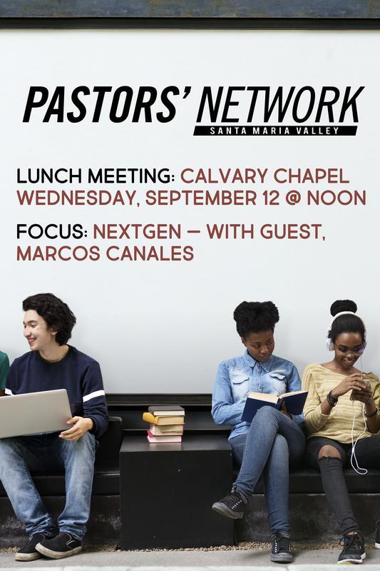 Pastors' Network Lunch Meeting