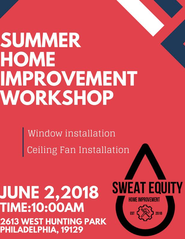 Summer Home Improvement Workshop