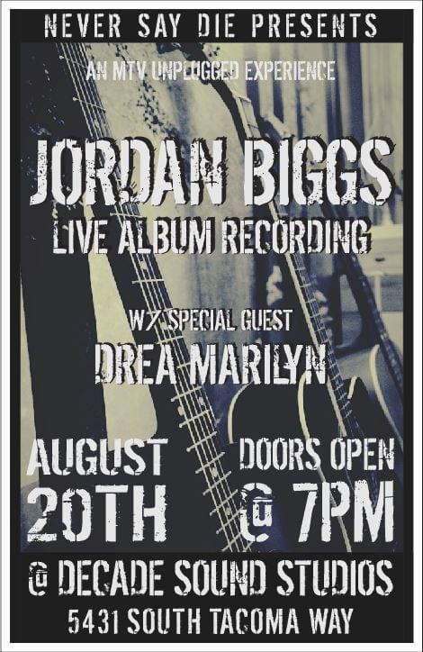 You Are Not Alone Studio Tour - Jordan Biggs