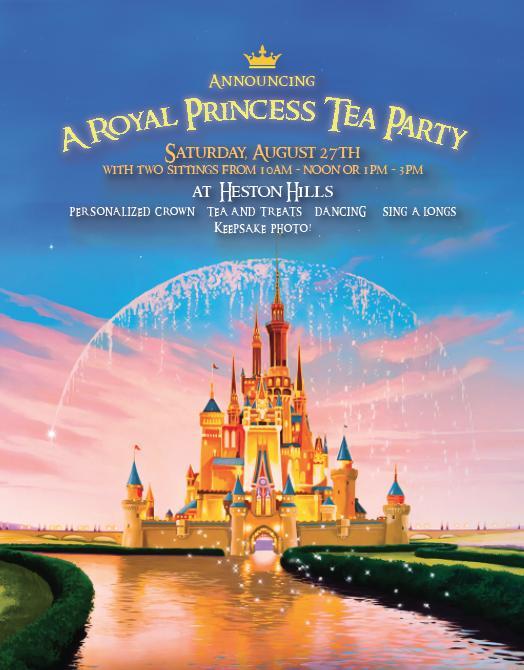 Royal Princess Tea Party