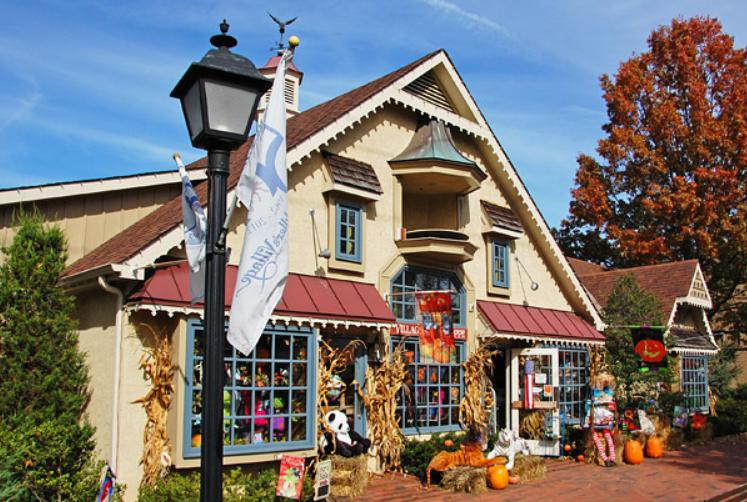 Fall Scarecrow Festival at Peddler's Village