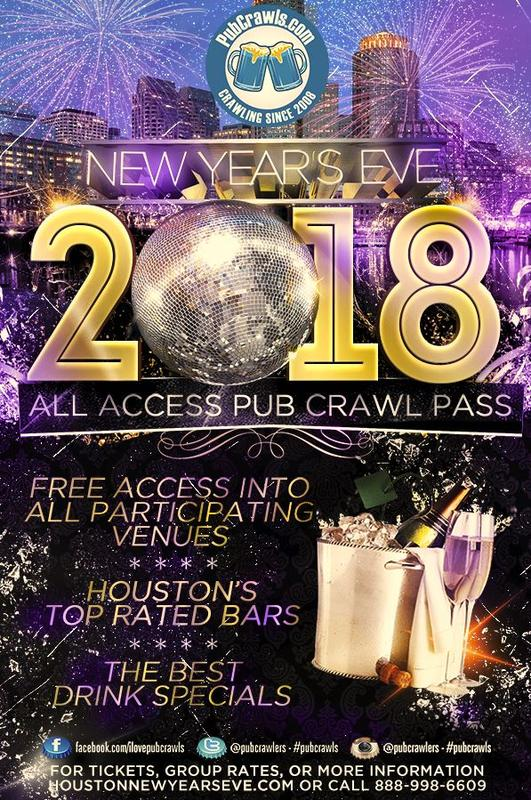 New Year's Eve All Access Pass Downtown Houston 2018