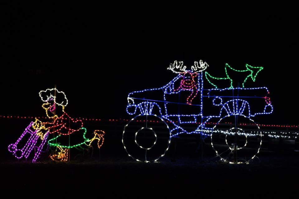2019 Drive Through Christmas Lights Tickets In The Rock