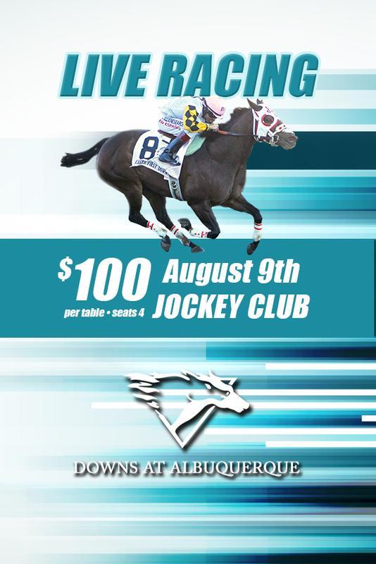 August 9th Race Day - Jockey Club