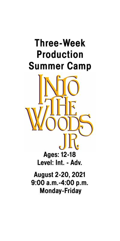 Production Summer Camp: INTO THE WOODS JR (ages 12-18)
