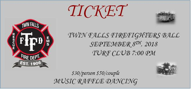 Twin Falls Firefighters Ball