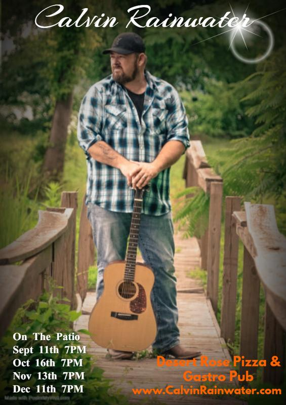 Live Music on the Patio with Calvin Rainwater