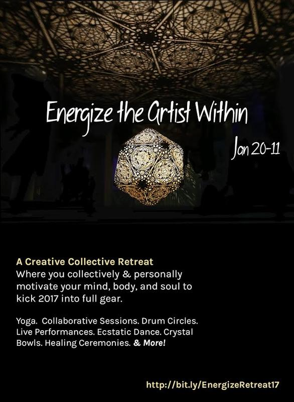 Energize The Artist Within: A Creative Collective Retreat