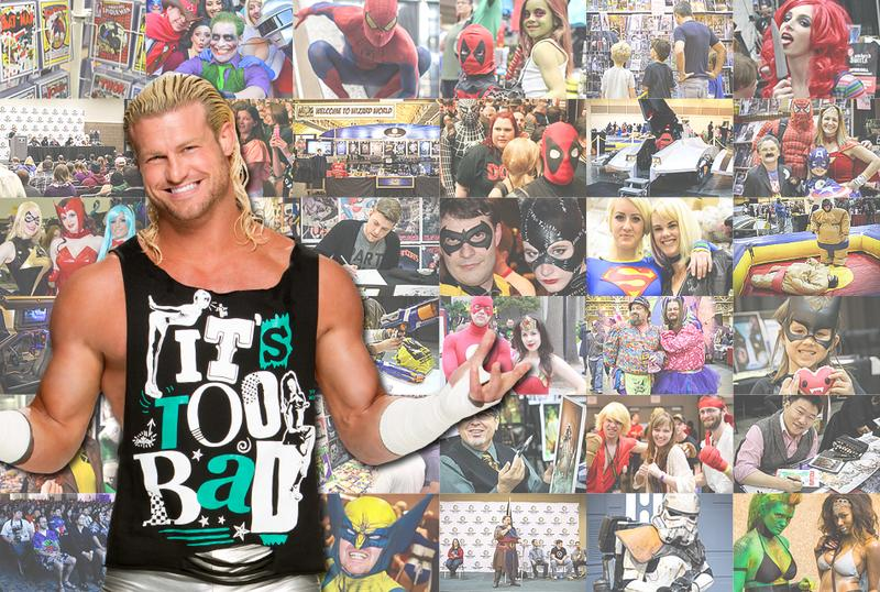 WWE® Dolph Ziggler™ Saturday VIP @ Cleveland Comic Con 2015
