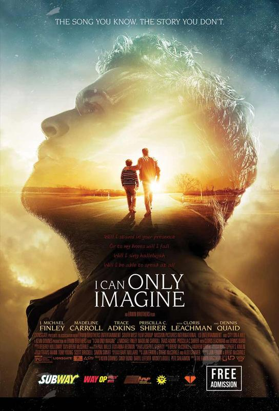I Can Only Imagine - Movie Event