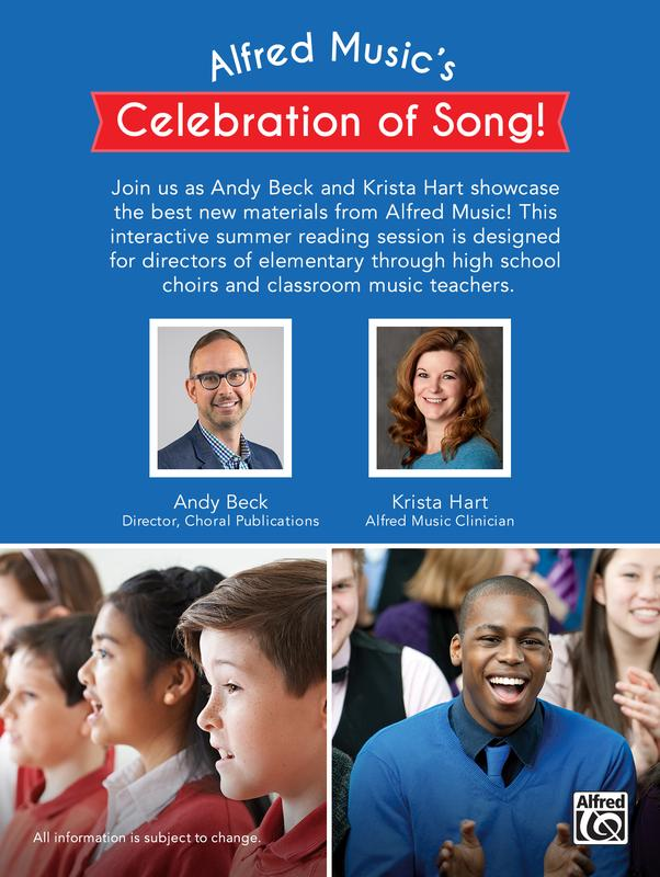 Celebration of Song!