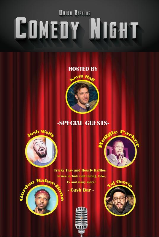 Union Riptide Comedy Night