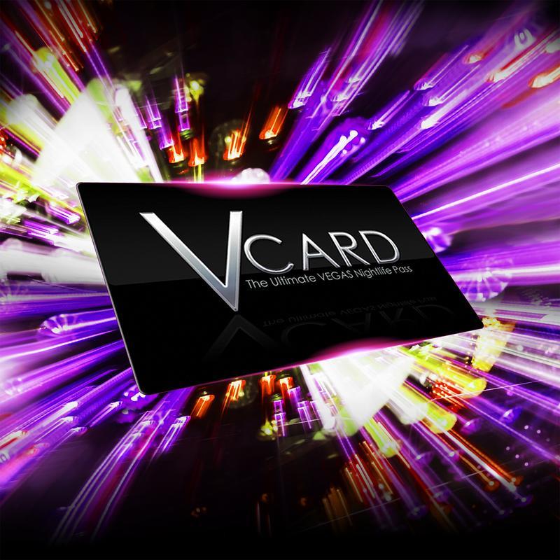 V Card: The Vegas Nightclub Pass Jan - Jun 2020