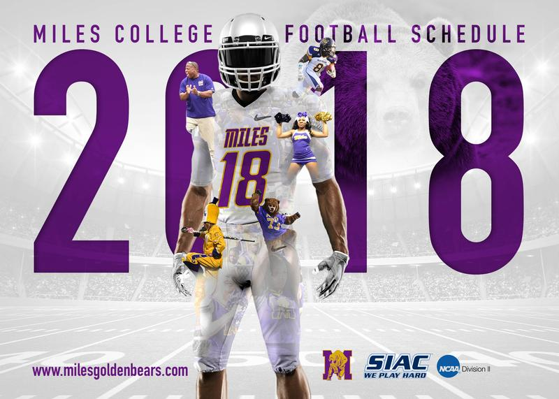Miles College Football 2018