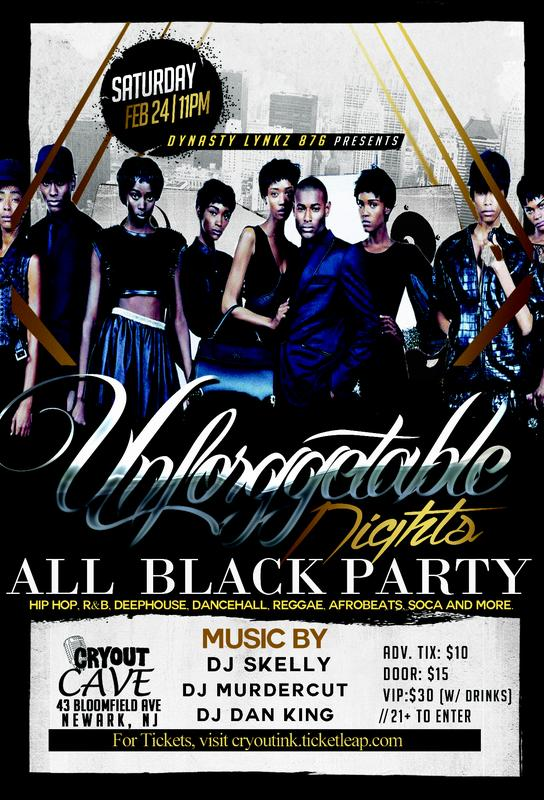 Unforgettable Night | ALL BLACK PARTY