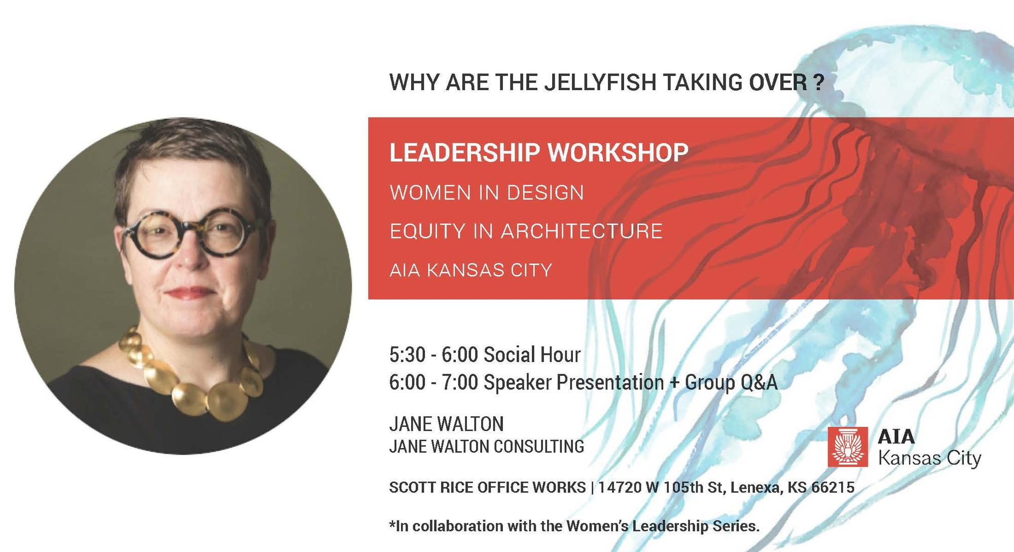 WID X EIA Leadership Workshop: Jane Walton