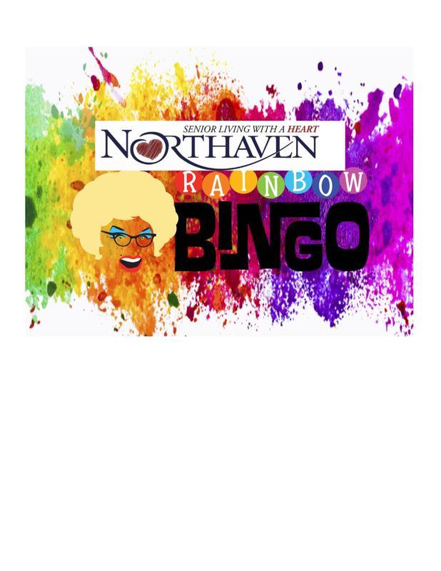 Northaven Rainbow Bingo