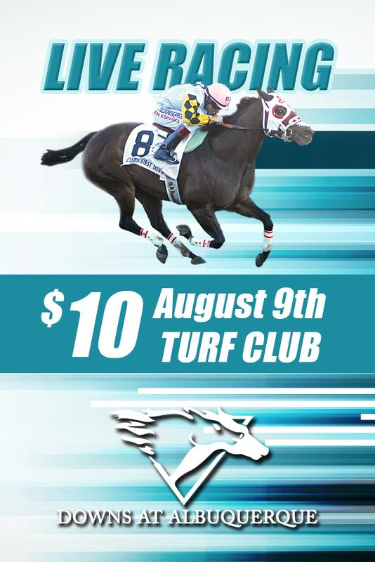 August 9th Race Day - Turf Club