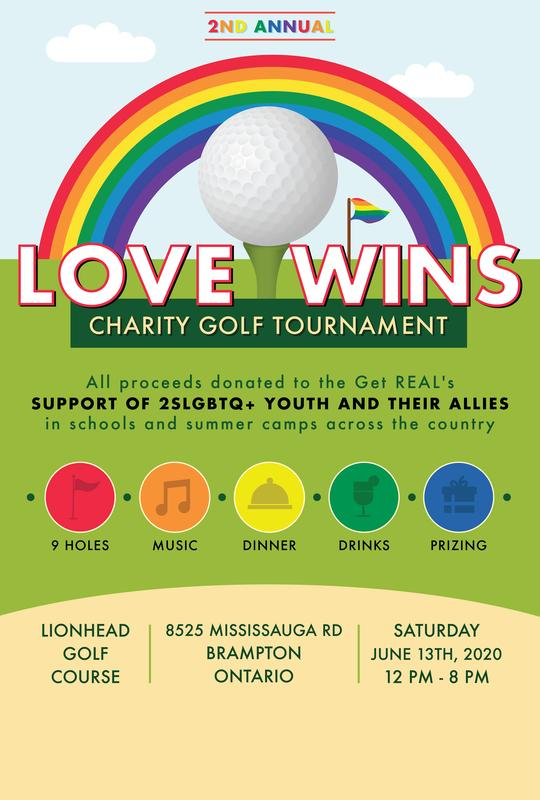 2nd Annual Love Wins Charity Golf Tournament!