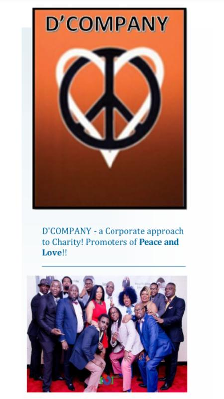 D'Company Launching and Fundraising Event