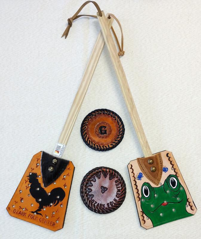 Summer Ozark Folk School Leather Projects & Skills Workshop