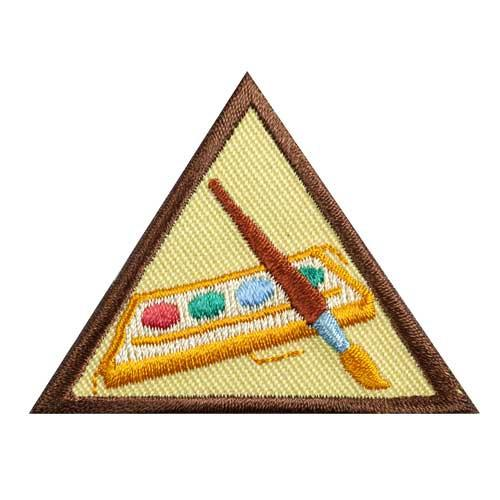Brownie Painting Badge
